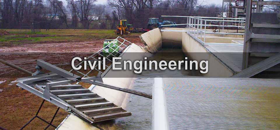 Civil engineering for municipalities, medical complexes, office buildings, parking structures, industrial plants, religious facilities